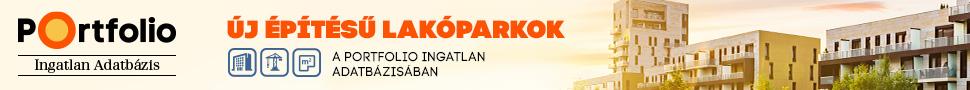Portfolio Ingatlan Adatbázis ad logó